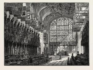 The Choir, St. George's Chapel, Windsor, UK