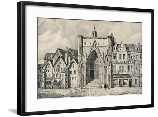 'The Church of the Holy Sepulchre', 1915-Unknown-Framed Giclee Print