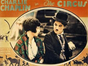 THE CIRCUS, Merna Kennedy, Charlie Chaplin, poster art,  1928