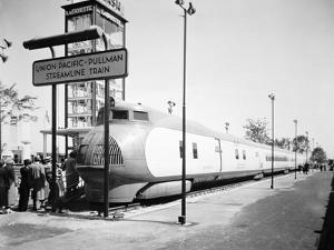 The 'City of Salina' of the Union Pacific Railroad, the First Streamlined Train in the Usa, 1935