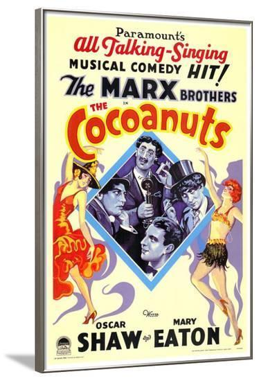 The Cocoanuts--Framed Poster