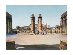The Colonnade of Amenhotep III, Temple of Luxor, Egypt, 20th Century