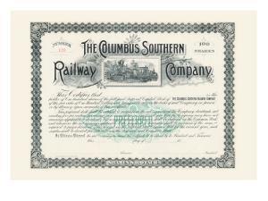 The Columbus Southern Railway Company