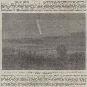 The Comet as it Appeared on Tuesday Evening