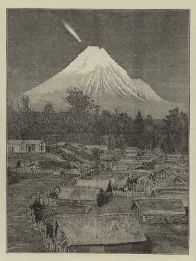 The Comet Seen over Mount Egmont, New Zealand