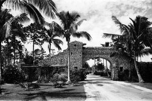 The Commercial Entrance, Miami, May 9Th, 1925