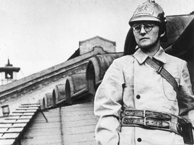 The Composer Dmitri Shostakovich During the Siege of Leningrad