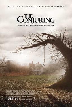 The Conjuring (Vera Farmiga, Patrick Wilson, Lili Taylor) Movie Poster