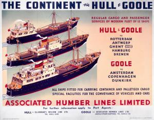 The Continent Via Hull and Goole