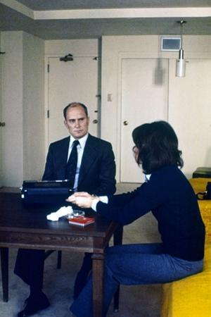 THE CONVERSATION, 1974 directed by FRANCIS FORD COPPOLA Robert Duvall (photo)
