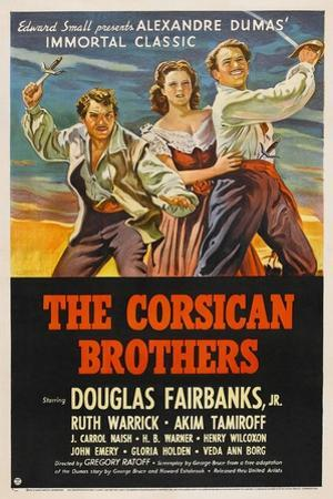 The Corsican Brothers, 1941, Directed by Gregory Ratoff