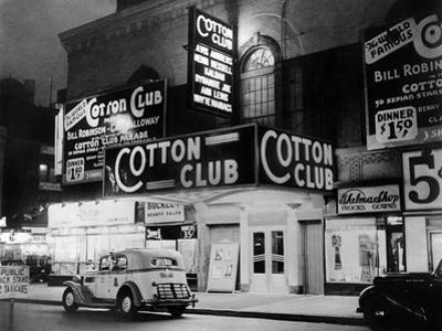 The Cotton Club in Harlem (New York) in 1938