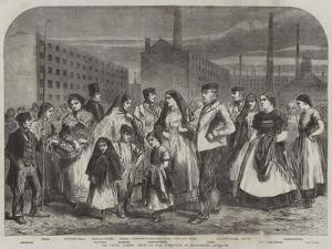 The Cotton Famine, Group of Mill Operatives at Manchester