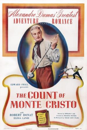 The Count of Monte Cristo, Robert Donat, 1934