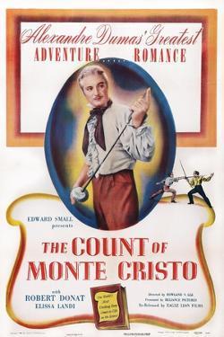 The Count of Monte Cristo, Robert Donat, 1934