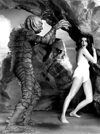 The Creature From The Black Lagoon, Ben Chapman, Julie Adams, 1954