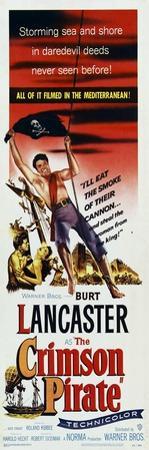The Crimson Pirate, 1952