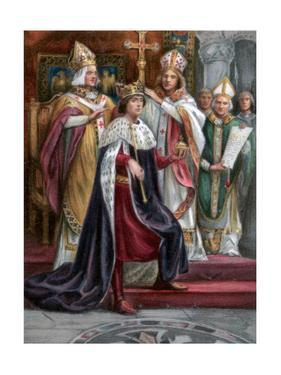 The Crowning of Edward I, Westminster, 19 August 1274
