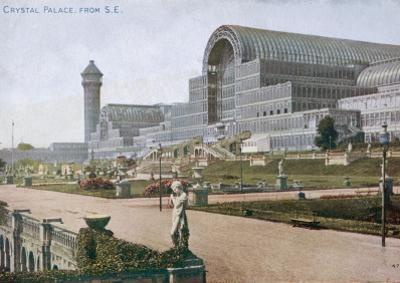 The Crystal Palace and Grounds, Looking from the South East