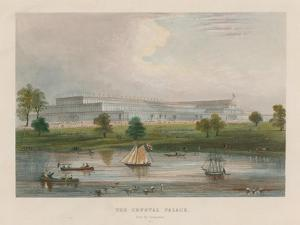 The Crystal Palace from the Serpentine