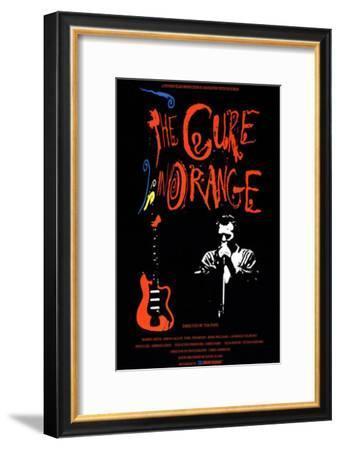 The Cure in Orange--Framed Masterprint