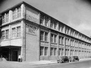 The Daimler-Benz Factory, Stuttgart, Germany, C1950