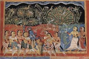 The Dance of Krishna