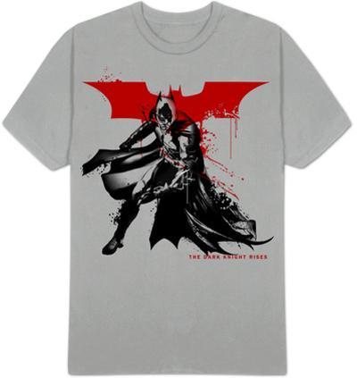 The Dark Knight Rises - Splatter Paint