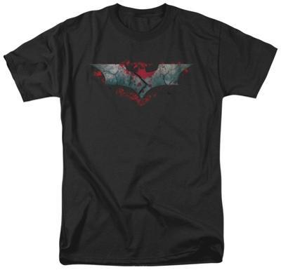 The Dark Knight Rises - Split & Crack Logo