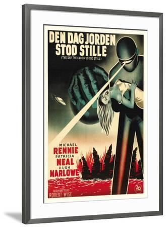 The Day The Earth Stood Still - Danish Style--Framed Poster