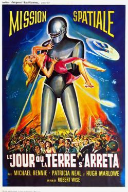 The Day The Earth Stood Still, French Movie Poster, 1951