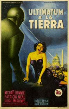 The Day The Earth Stood Still, Italian Movie Poster, 1951
