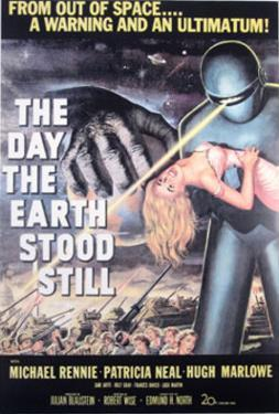 The Day The Earth Stood Still (Keanu Reeves, Jennifer Connelly) Movie Poster