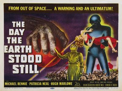 The Day The Earth Stood Still, UK Movie Poster, 1951
