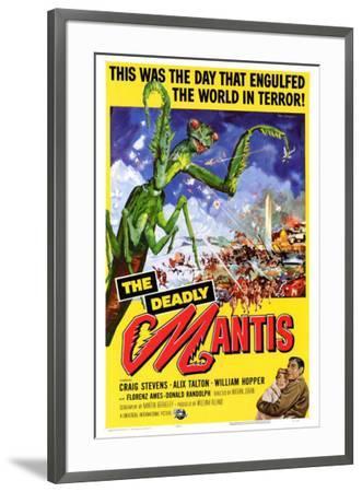 The Deadly Mantis--Framed Poster