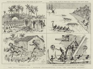 The Declaration of a British Protectorate over the Solomon Islands