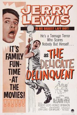 The Delicate Delinquent, Jerry Lewis, 1957