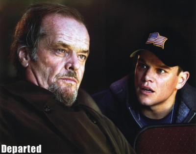 The Departed Jack Nicholson Matt Damon Movie Poster Print