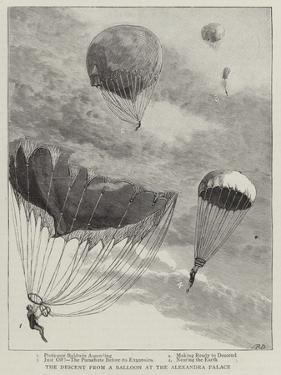 The Descent from a Balloon at the Alexandra Palace