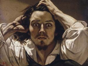 The Desperate Man (Self-Portrait) by Gustave Courbet