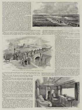 The Development of Railways in England