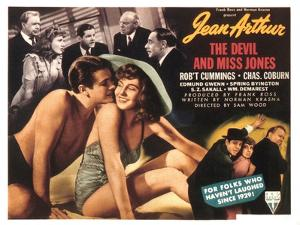 The Devil And Miss Jones, Robert Cummings, Jean Arthur, 1941