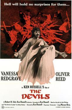 The Devils, Oliver Reed, Vanessa Redgrave, 1971