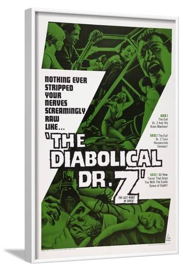 The Diabolical Dr. Z, (Aka Miss Muerte), 1966--Framed Art Print