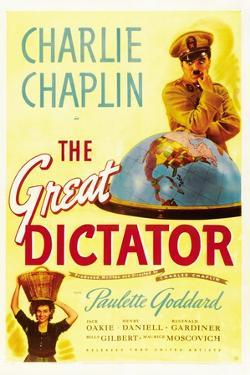 """The Dictator, 1940 """"The Great Dictator"""" Directed by Charles Chaplin"""
