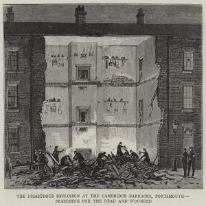 The Disastrous Explosion at the Cambridge Barracks, Portsmouth, Searching for the Dead and Wounded