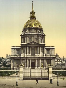 The Dome des Invalides, Paris, France, c.1890-1900