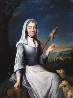 The Duchess of Villais in Costume, 18th Century