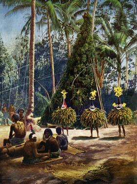 The Duk Duk Society, Bismarck Archipelago, Papua New Guinea, 1920