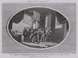 The Duke of Buckingham Assassinated by Felton at Portsmouth, 23 August 1628